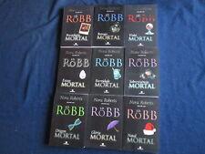 9 Nora Roberts J D Robb In Death Series Mortal Origem Gloria Natal Portuguese PB