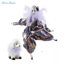 The Kimberly Collection Porcelain Parisian Doll with Poodle