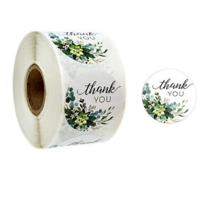 PACK OF 100 THANK YOU STICKERS LABELS * HUGE CHOICE  ** SALE TODAY ONLY £1.69 **