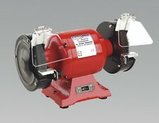 Sealey Bench Grinder Workshop Heavy-duty Grinding 150mm With Wire Wheel 230v