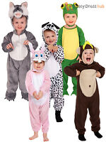 Toddler Animal Fancy Dress Costume Kids Boys Girls Book Week  Day Age 2- 3 Years