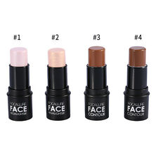 4Colors Women Facial Contour Highlighter Highlighting Stick Shimmer Makeup Tool
