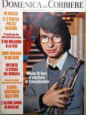 La Domenica del Corriere 18 Gennaio 1972 Rubinstein Dietrich Frazier Schubert Tv