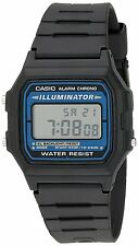 Casio F105W-1A Men Sport Digital Watch Water Resistant Auto Calendar Daily Alarm