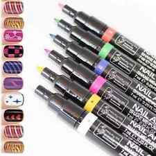 Pro 16 Pcs Color Nail Art Pen Painting Design Tool Drawing for UV Gel Polish Set