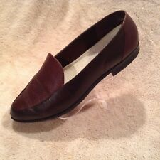 Rockport Brown Shoes Womens Loafers Size 9 1/2 Leather Good Condition