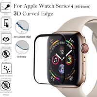 3D Full Coverage Tempered Glass Film Screen Protection For Apple Watch Series 4