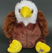 """Ganz Webkinz Eagle Plush Stuffed Animal Beanbag Toy Doll American 8"""" 2008"""