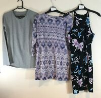 BUNDLE OF LADIES CLOTHES WOMENS UK SIZE 10 - DRESS, JUMPER, TOP : KELSO