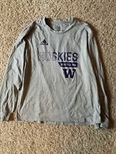 Washington Huskies adidas Long Sleeve. Size L.