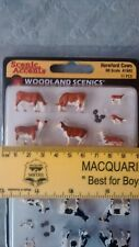 Woodland Scenics Hereford Cows A1843 HO Scale 1:87 NEW
