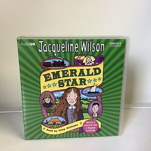 Audiogo Jacqueline Wilson Emerald Star 8 Cds Read By Finty Williams