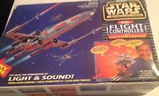 star wars rebel flight controller/with x-wings starfighter 1996