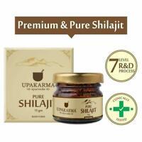 Upakarma Natural & Pure Resin Raw Shilajit 15 Grams FREE SHIPPING