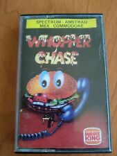 Whopper Chase Burger King Game Msx Spectrum Amstrad Commodore
