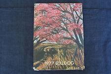 1977 yearbook - Blanche Thomas Junior - Senior High School, Sentinel, Oklahoma