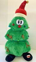 Vintage Christmas Tree Animated ANIMATRONICS Light Up Musical Dance Plush