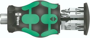 Wera Kraftform Kompakt Stubby Magazine 5 Screwdriver Set 05008878001