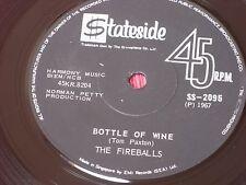 "The Fireballs: Bottle of Wine VERY RARE 1967  Singapore  EX+  7"""