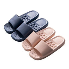 Unisex Slippers Home Indoor Flat Slides Bathroom Pool Beach Flip Flops Shoes
