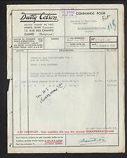 """GAND (BELGIQUE) MATERIEL & ACCESSOIRES de SECURITE / GANTS """"DUTRY COLSON"""" 1948"""