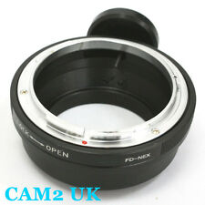 Canon FD lens to Sony NEX E mount Adapter tripod NEX-5T A7 A7R A6000 A5000 VG900