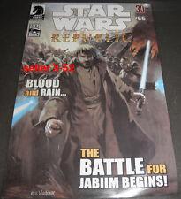 Star Wars Republic # 55 comic book Obi-wan Kenobi At-At clone trooper Anakin