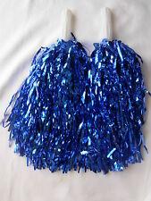 6 paires de Bleu Pompons Pompom Girl Enterrement vie jeune fille