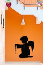 Wall Stickers Vinyl Decal Angel Religion Baby Religious Cool Decor  (z1587)