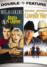 Bird on a Wire / The Cowboy Way New DVD sealed MEL GIBSON GOLDIE HAWN