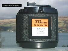 New In Box Mamiya RB67 Camera 70mm Film Back & Matching Suction Bulb Set