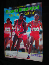 Sports Illustrated Aug 20 1984 Olympics Carl Lewis USA