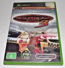 V8 Supercars Australia 3 Xbox Original PAL *Complete*