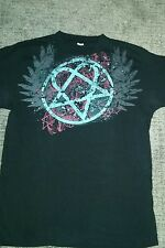 HIM Heartagram graphic tee Unisex Small tshirt Ville Valo Discontinued Farewell