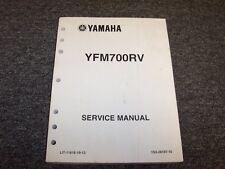 2006 Yamaha YFM700RV Raptor 700R ATV Four 4 Wheeler Shop Service Repair Manual