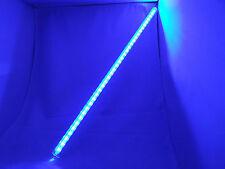 LED Lichtleiste 50cm blau 36LED`s 12V (fmb080202) mit Klarglasabdeckung
