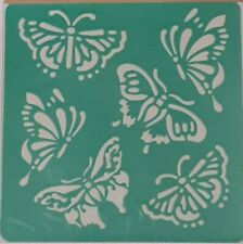 BUTTERFLY's Stencil Washable Reusable Plastic 6