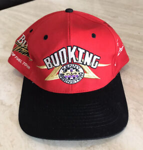Bud King Kenny Bernstein Signed Autographed NASCAR Racing Hat Embroidered EUC OS
