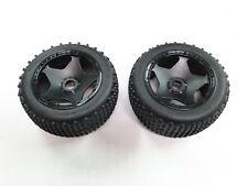 NEW KING MOTOR Wheels +Tires Rear DIRT BUSTER (HPI BAJA 5B 5SC Compatible) GB44D
