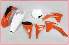 SET PLASTIQUE COMPLET FEO UFO KTM SX 2012