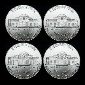 2020 2021 P+D Jefferson Nickel Set Mint Business Strike from Bank Roll