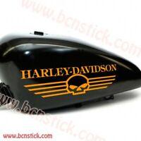 2x adhesivos de vinilo stickers Harley Davidson calavera deposito