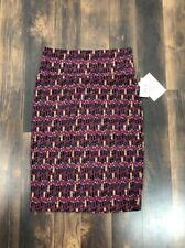 Lularoe women's skirt -Cassie Sz XS multicolored --lipstick Themed—nwt Cc23
