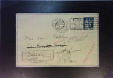 France 1936 Returned Letter to Texas - Z1810