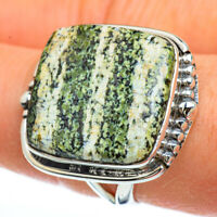 Lizard Jasper 925 Sterling Silver Ring Size 9 Ana Co Jewelry R44830F