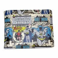 Official DC Comics Batman and Robin Wallet in Gift Tin - Mens Comic Print Boxed