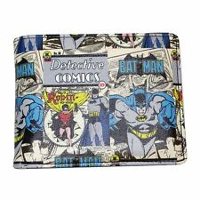 Official DC Comics Batman and Robin Wallet in Gift Tin - Mens Comic Print Boxed