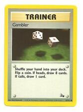 Gambler Pokemon Fossil Common Individual Card (60/62) - NM/M