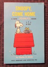 1967 SNOOPY COME HOME Peanuts by Charles M Schulz SC FVF 4th Holt Reinhart