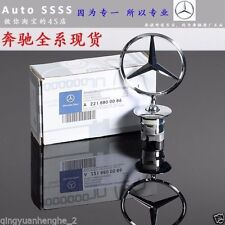 Genuine Mercedes Benz Star Hood Logo Chrome Emblem Badge W123 W126 W201 W124
